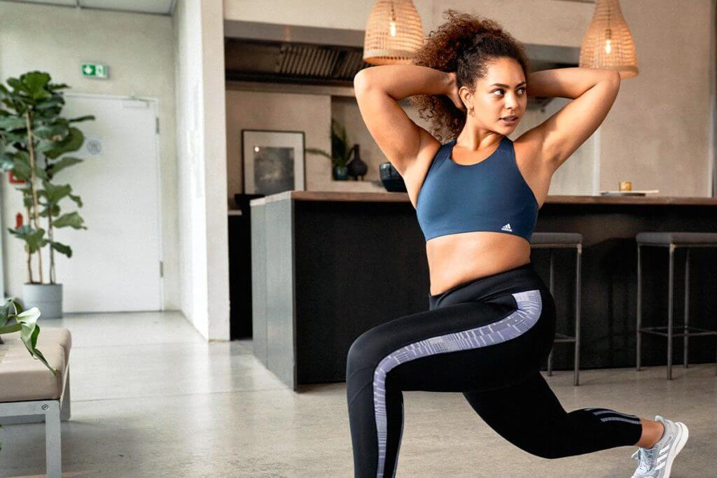 adidas Runtastic exercises for home workouts