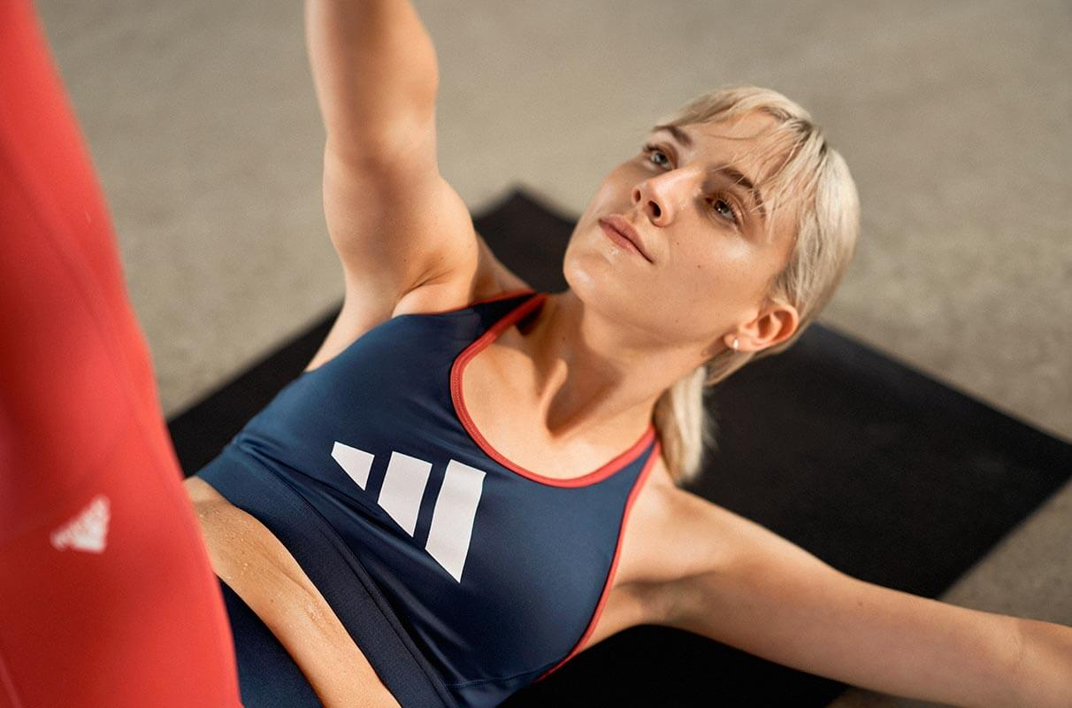 star crunches exercise for women