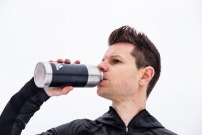 adidas metal water bottle