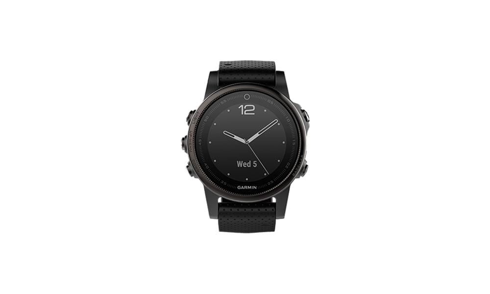 Die Garmin Watch lässt sich mit den adidas Runtastic Apps verbinden