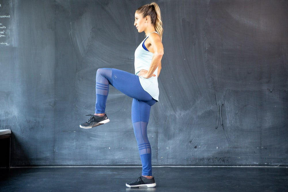 Lunge to High Knee