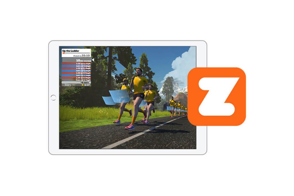 Wie Zwift mit der adidas Running App funktoniert