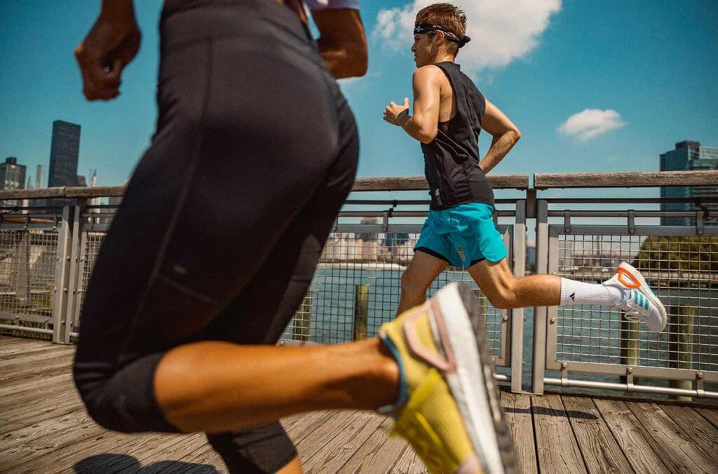Running is a way to fight stress and exhaustion