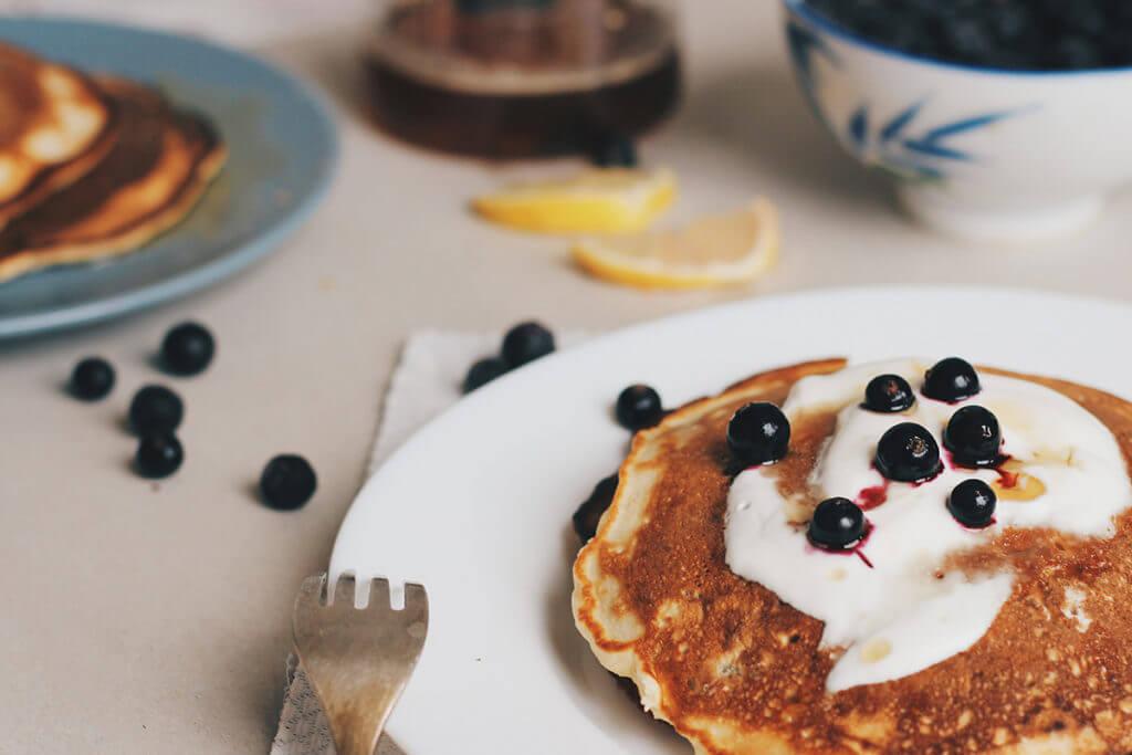un petit déjeuner diététique