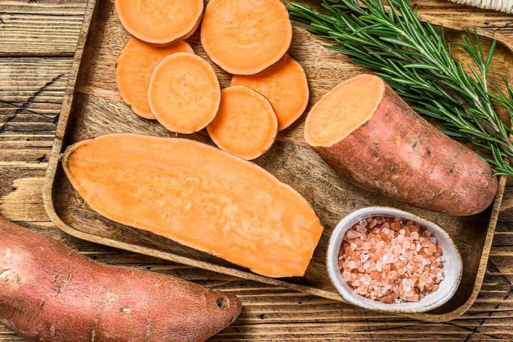 Sweet potatoes recipes