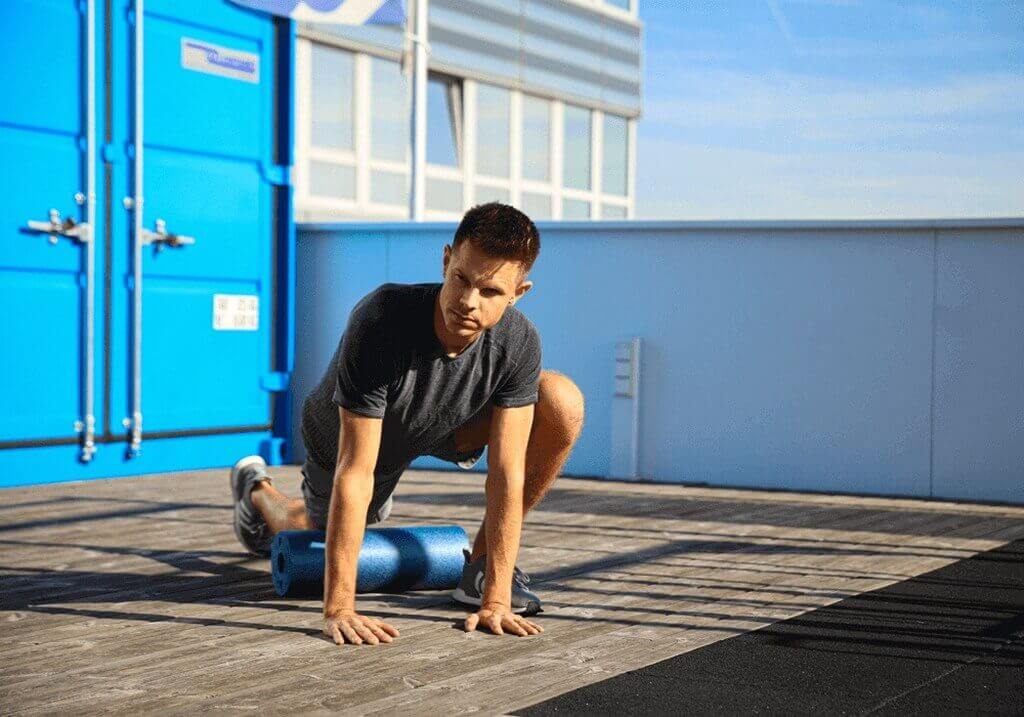 With a foam roll a runner can easily reduce pains and aches, prevent injury and decrease muscle soreness.