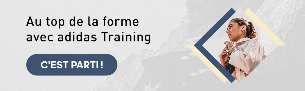 au top de la forme avec adidas Training app