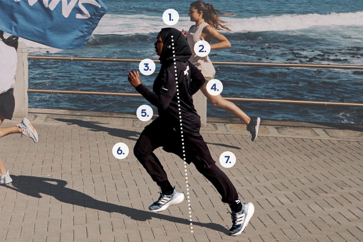 correct running posture