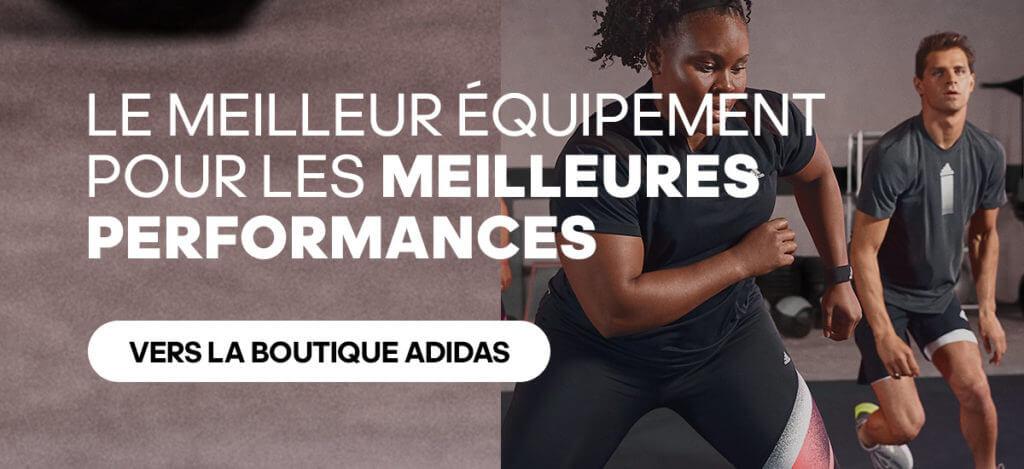 les meilleurs équipements de sport par adidas