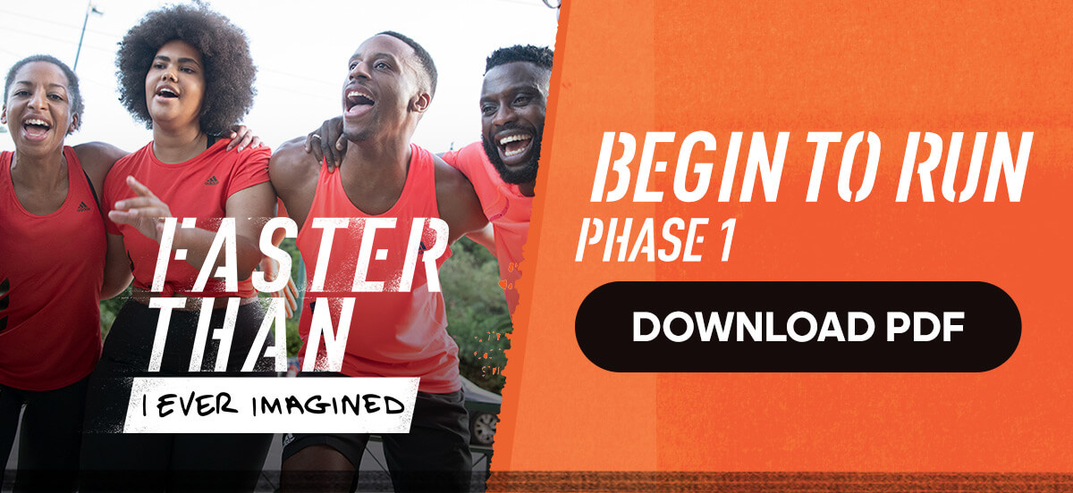 adidas Runtastic Running Training Plan: Begin to Run