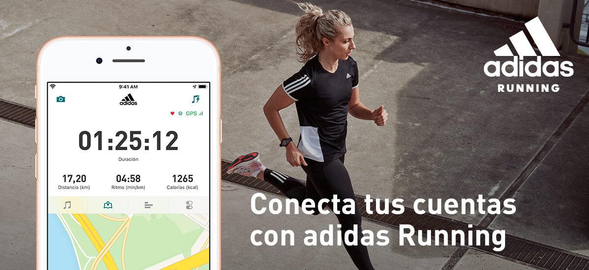 Conecta tus cuentas con adidas Running