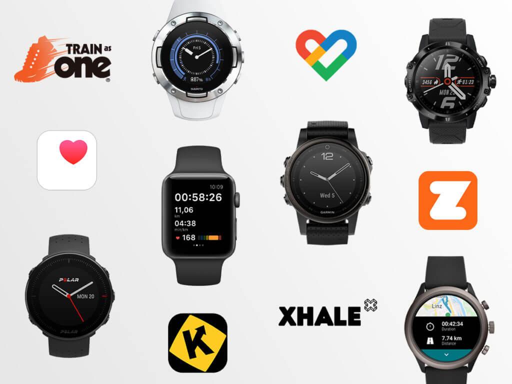 Apps y relojes deportivos compatibles con adidas Running
