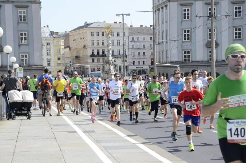Foto vom Linzer Marathon.
