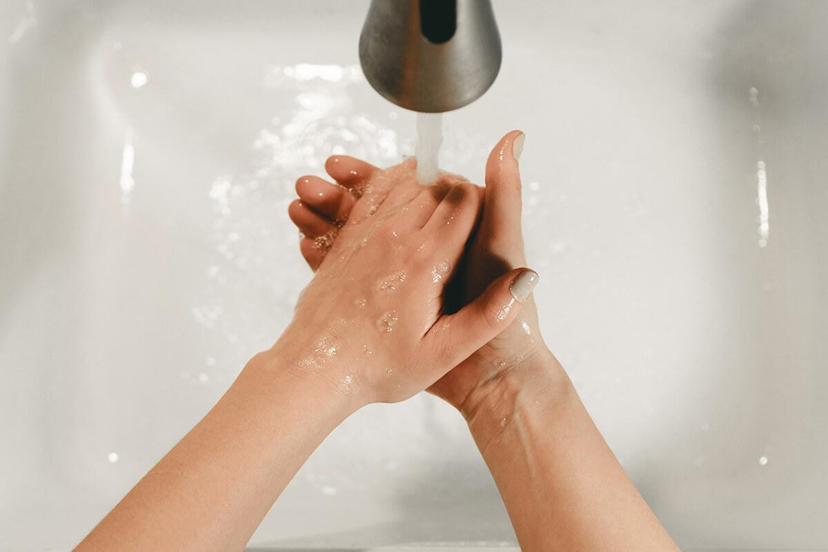 Lavarse bien las manos