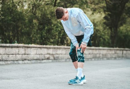 runner ha il tendine rotuleo infiammato