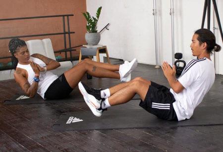 Partner Workouts for max motivation