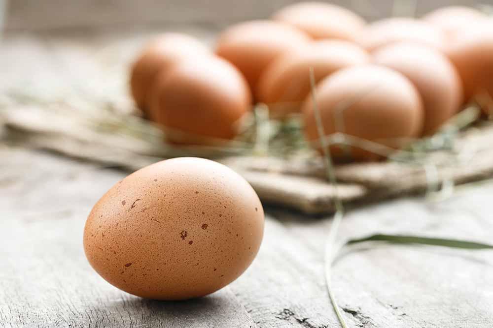 Eier liefern reichlich Vitamin D