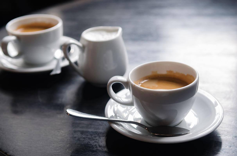 2 cups of espresso