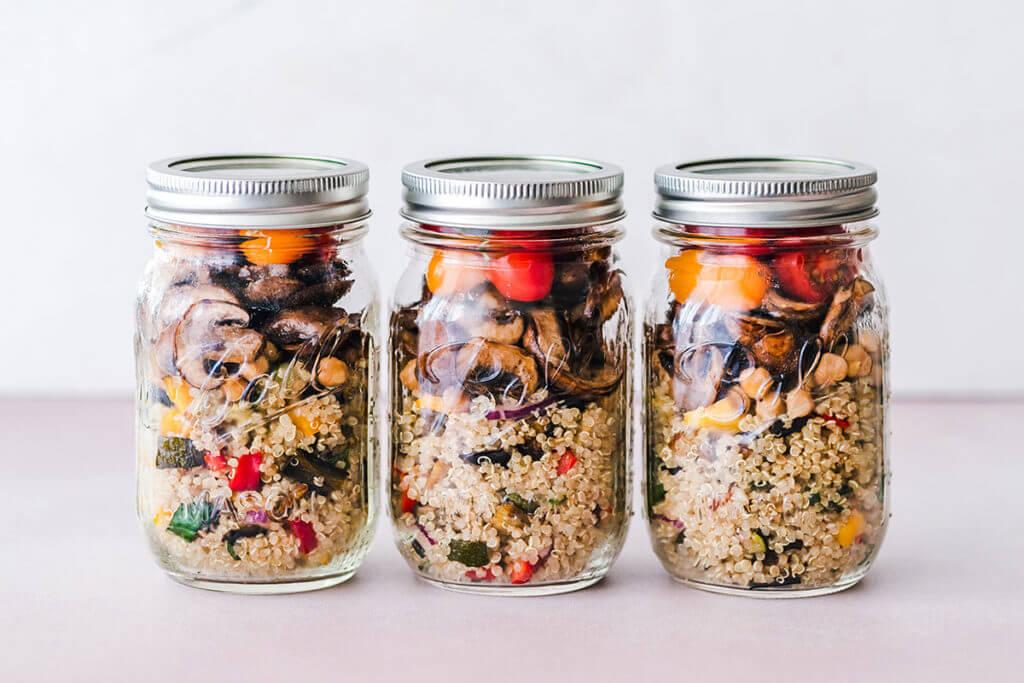 Preparación de alimentos y comidas con antelación