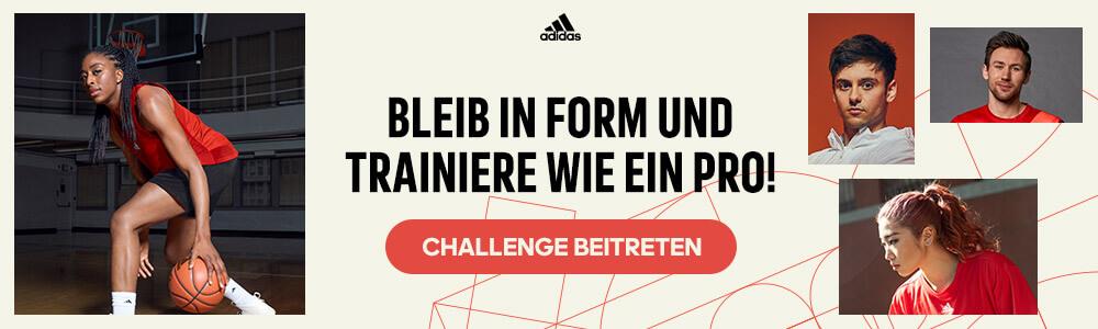 Trainiere wie ein Pro! Challenge