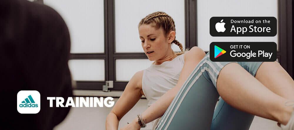 Application adidas Training par Runtastic