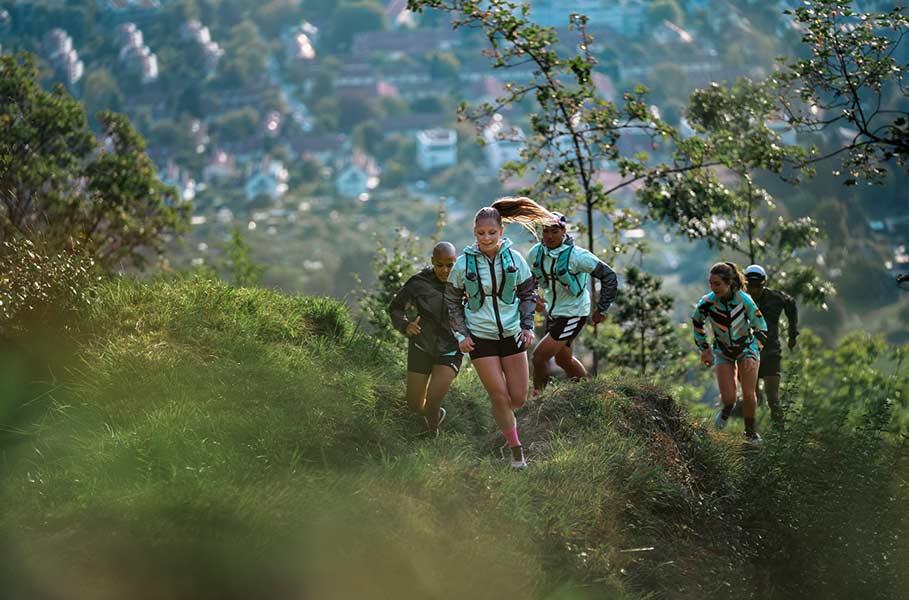 Running por senderos de montaña