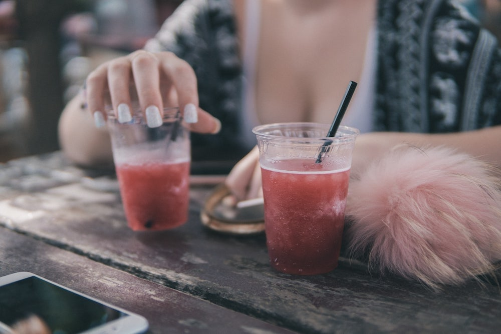 Cócteles con bebidas carbonatadas