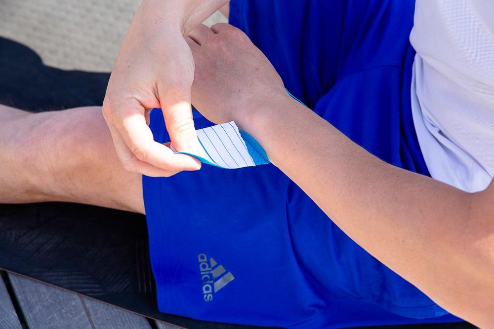 Taping Handgelenkbeschwerden