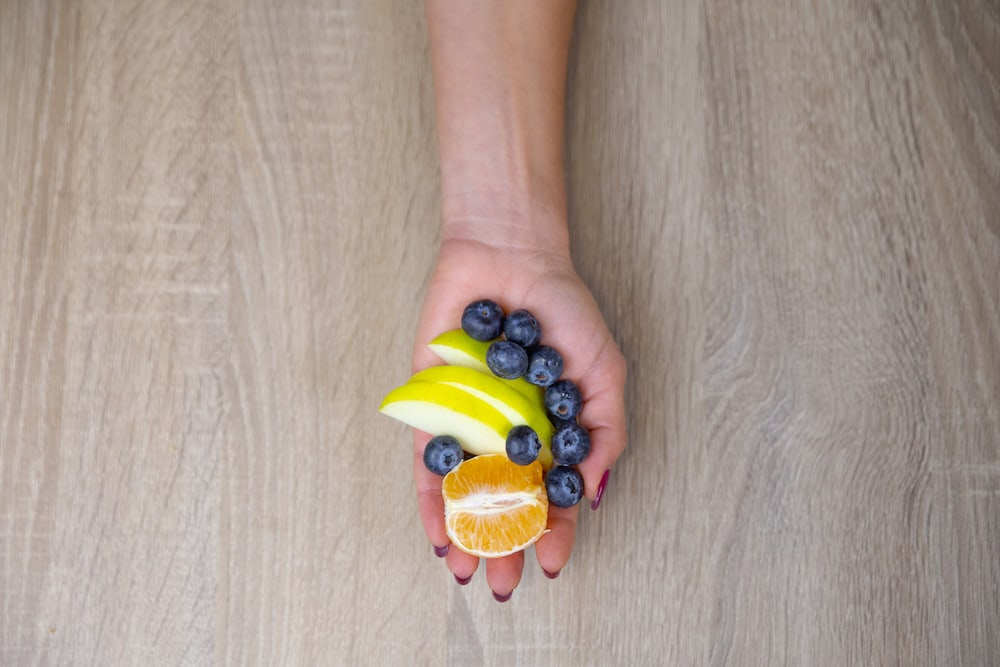 Fruit portion size