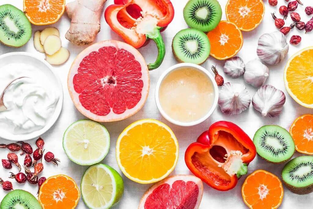 agrumi e frutta fresca
