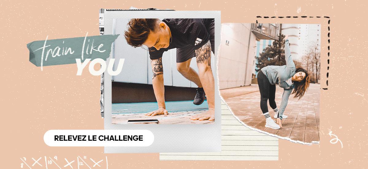 Participez au challenges Train Like de adidas Runtastic