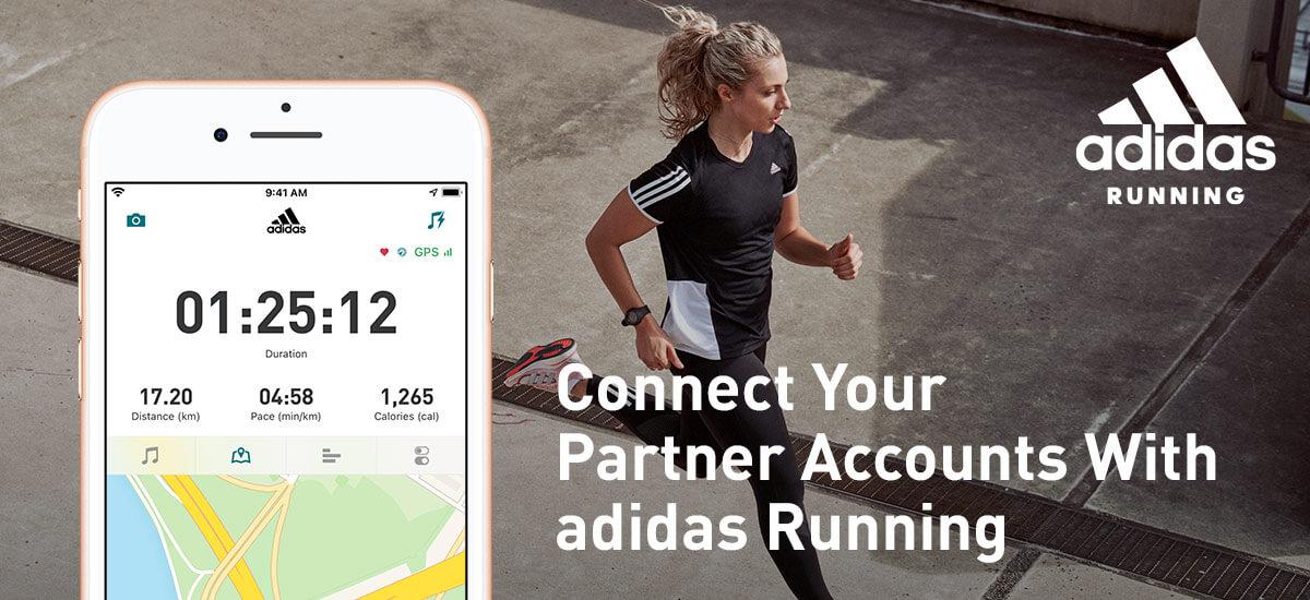 adidas Running partner accounts