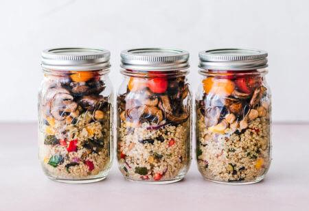 preparare i pasti in anticipo aiuta a mangiare sano