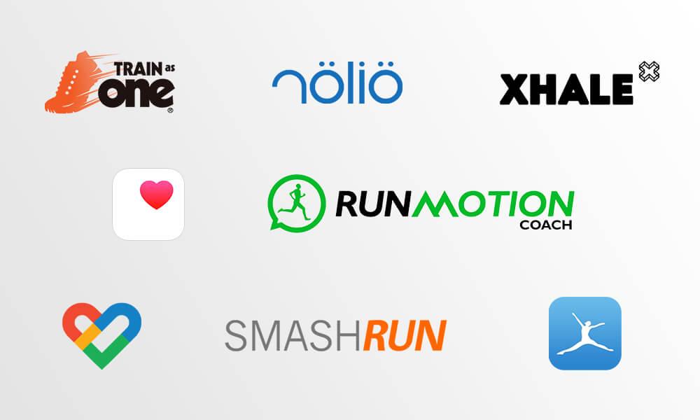 adidas Running partner apps and platforms