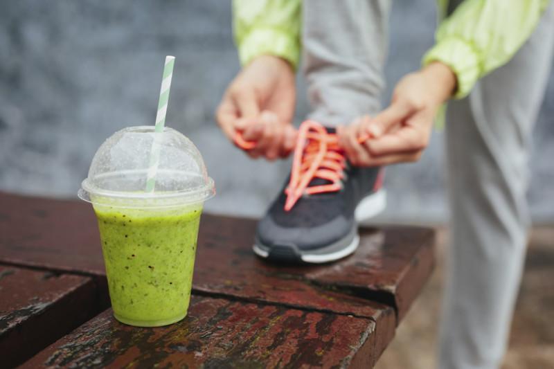 Snacks vor und nach dem Lauf