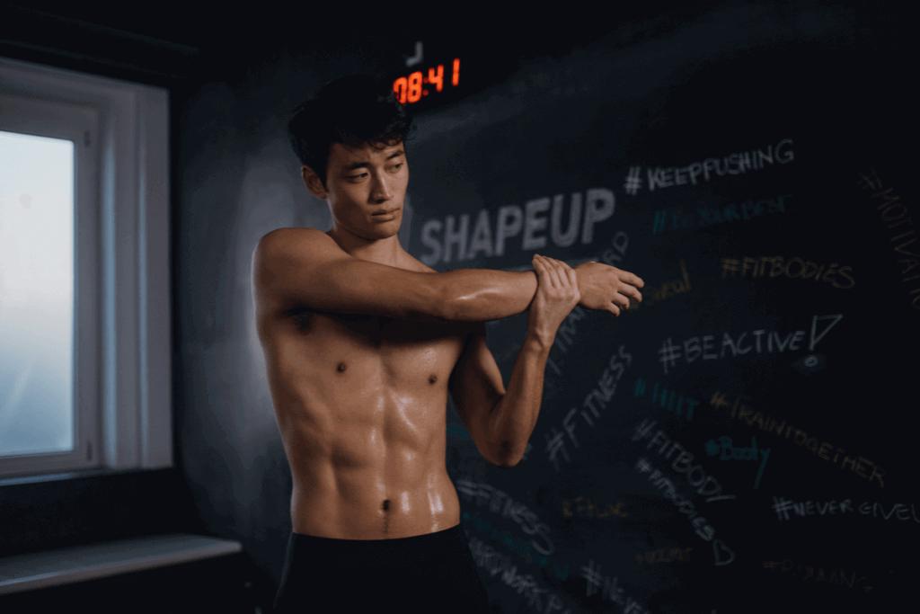 stretching allenamento crescita muscolare