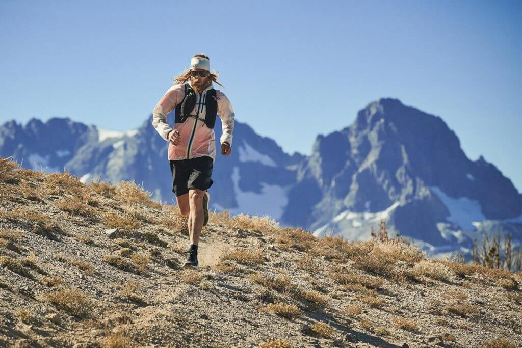 Timothy Olsen beim Trailrunning