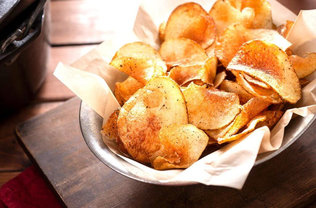 Bowl of chips can be part of intuitive eating