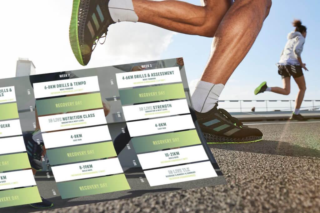 Plan de entrenamiento de running