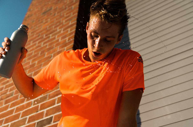 runner cooling down