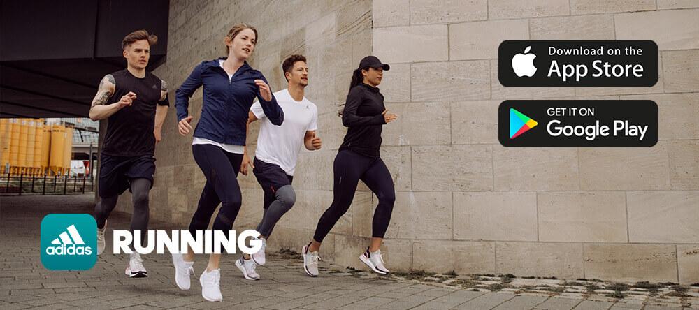 Téléchargez l'appli adidas Running