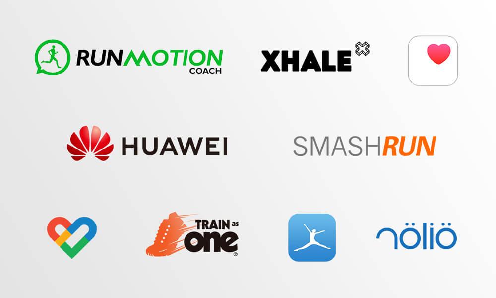Runtastic partner platforms