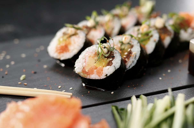 il y a du sucre dans le riz à sushi