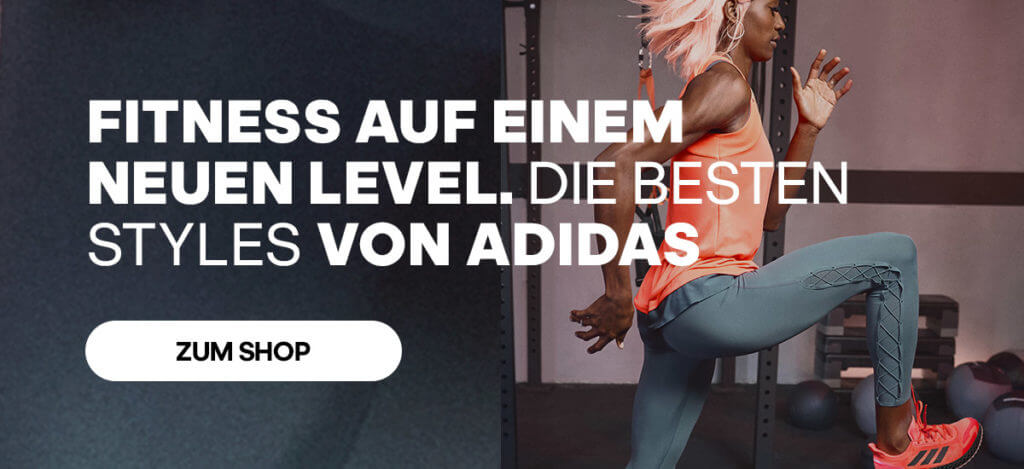 Adidas shop now banner