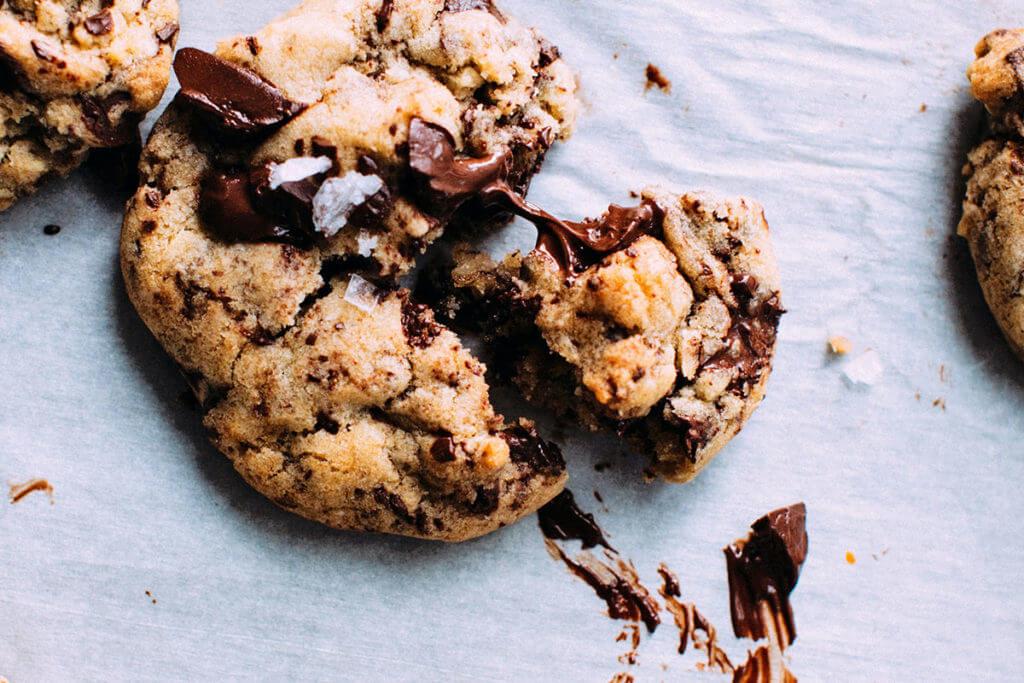 Como controlar a vontade de comer doce, como este delicioso cookie?