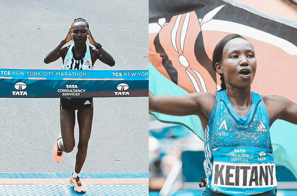 Long distance runner Mary Keitany speaking about her life
