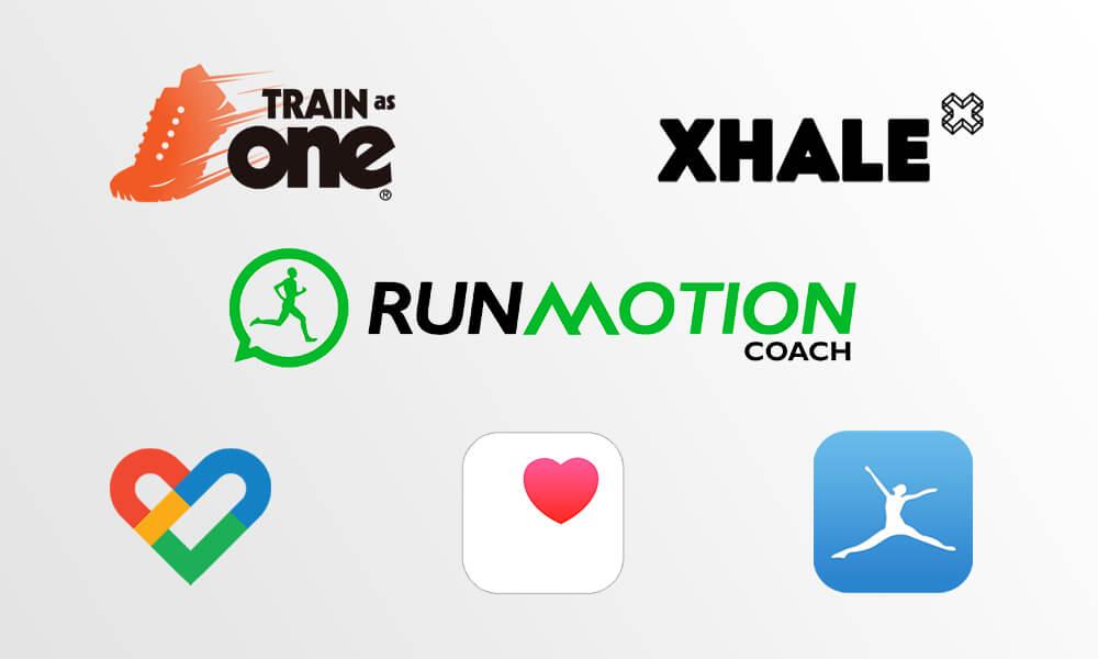 Imagem contendo logotipos de vários aplicativos
