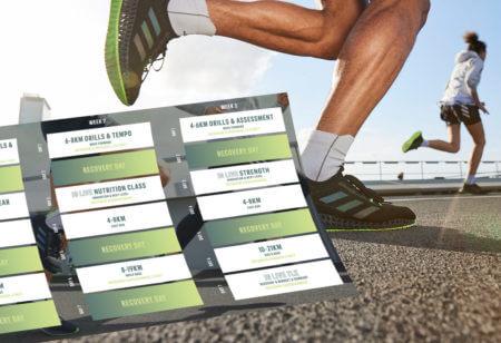 Plan d'entraînement spécial running