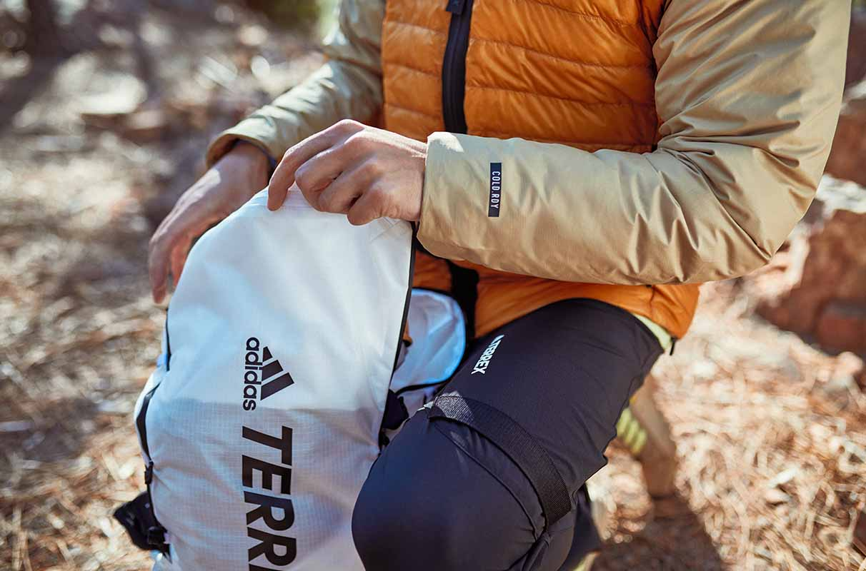 best hiking gear from adidas Terrex and cold.rdy